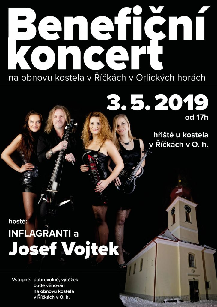 Benefiční koncert - INFLAGRANTI a Josef Vojtek 1